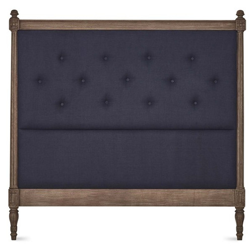 St James Upholstered Queen Headboard - Size: 157H x 161W x 7D (cm)