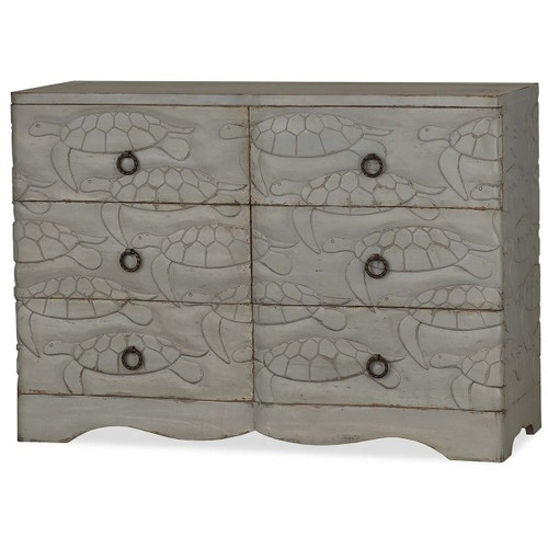 Chelonian Turtle Chest - Size: 86H x 122W x 46D (cm)