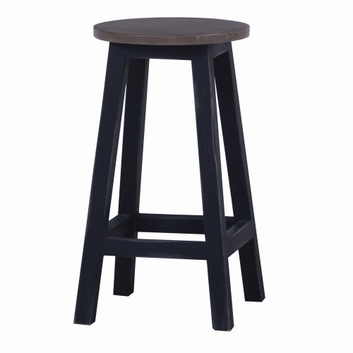 Provincial Counter Stool - Size: 63H x 36W x 36D (cm)