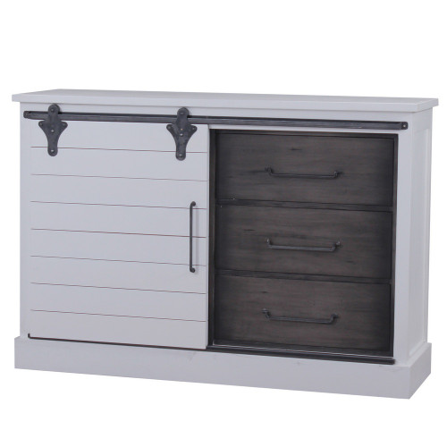 Sonoma Buffet with Sliding Door - Size: 107H x 157W x 46D (cm)