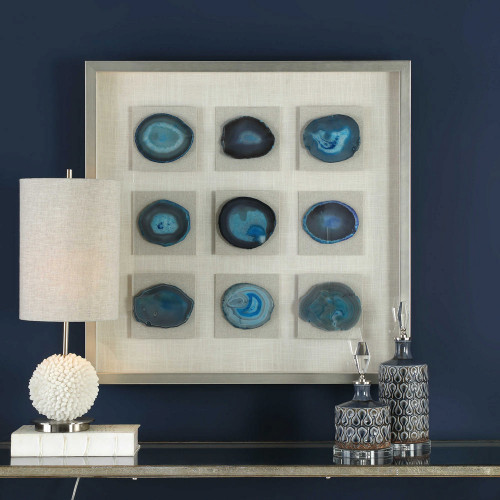 Cerulean Shadow Box by Uttermost