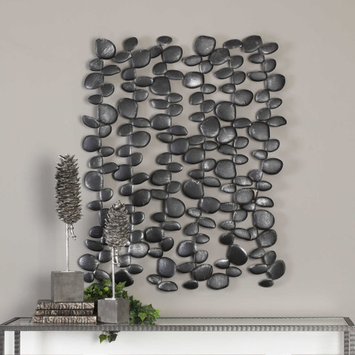 Skipping Stones Metal Wall Decor by Uttermost