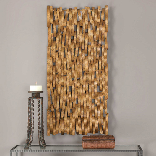 Diego Metal Wall Panel by Uttermost
