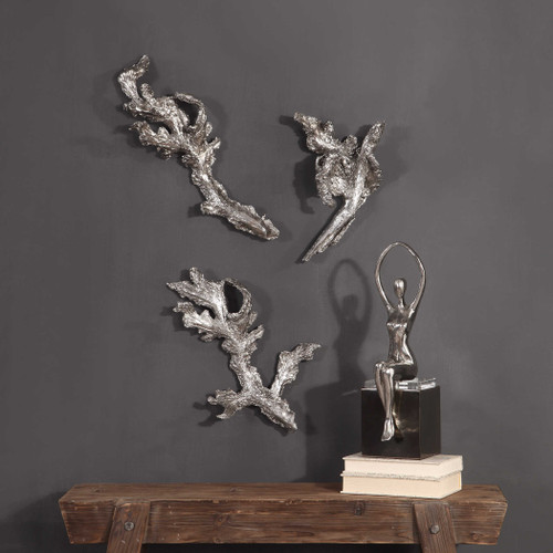Riparian Wall Decor S/3 by Uttermost