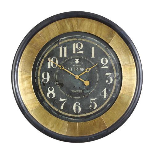 Lannaster Wall Clock by Uttermost