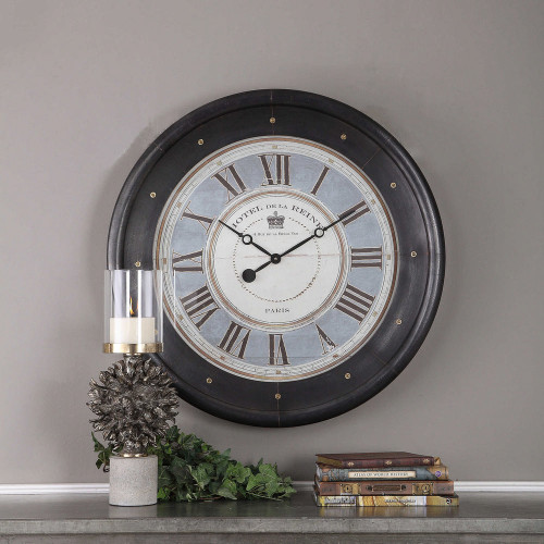 Jayden Wall Clock by Uttermost