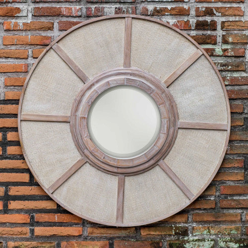 Calan Round Mirror by Uttermost