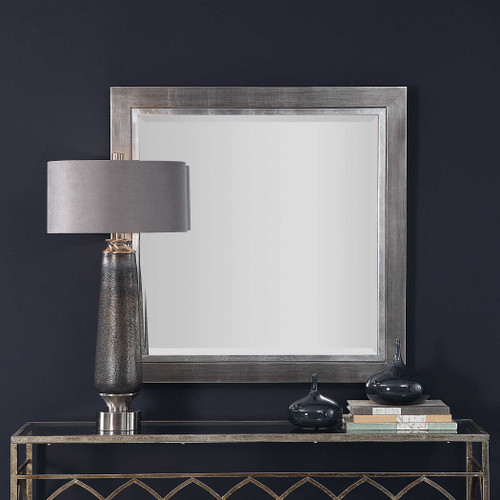 Moore Square Mirror by Uttermost
