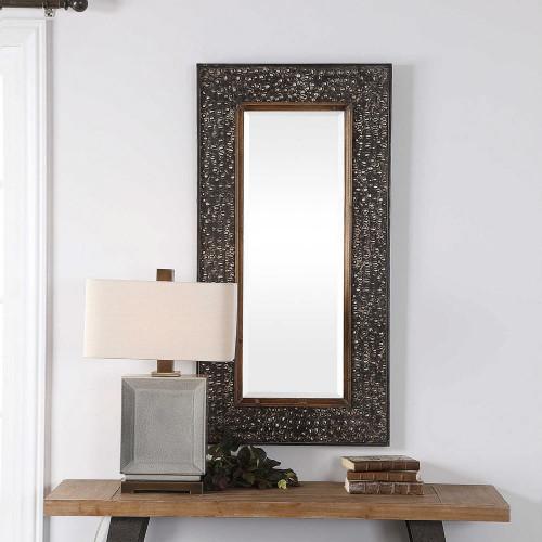 Lucia Rectangular Mirror by Uttermost