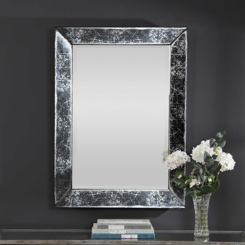 Isla Vintage Rectangle Mirror by Uttermost