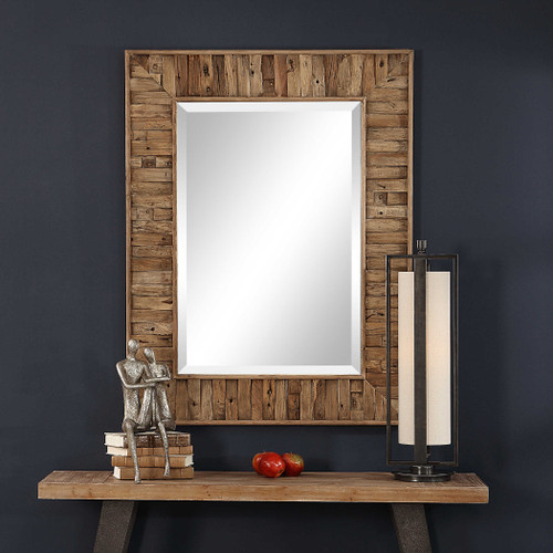 Nalani Reclaimed Wood Mirror by Uttermost