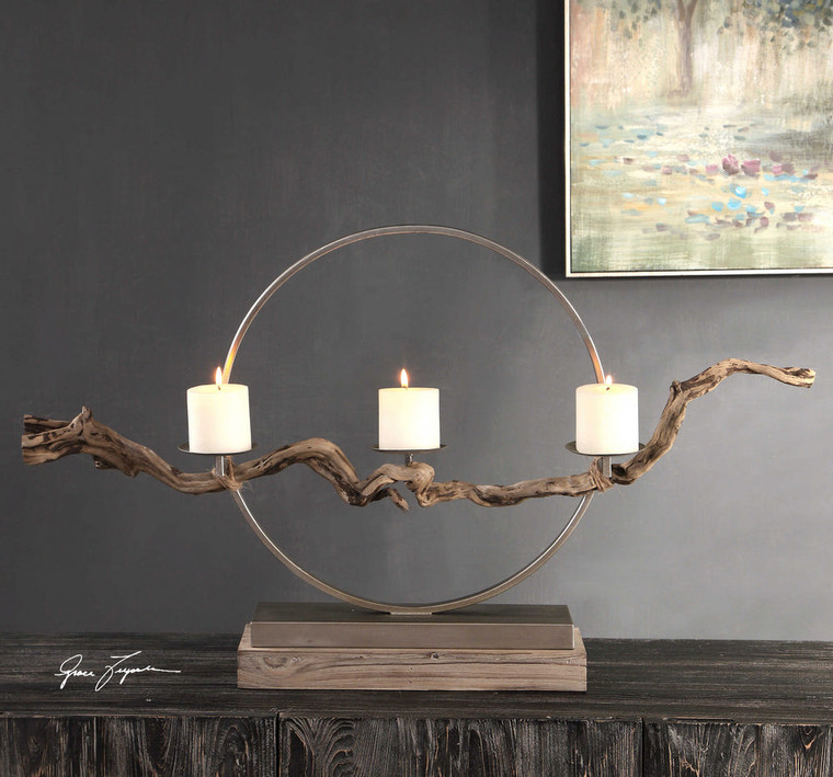 Ameera Candleholder by Uttermost