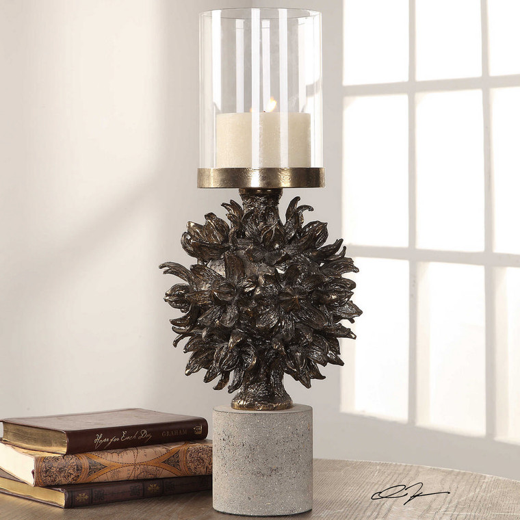 Autograph Tree Candleholder by Uttermost