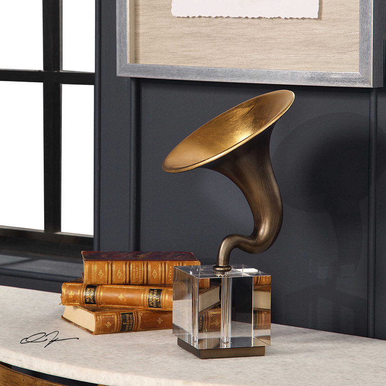 Phonograph Sculpture by Uttermost