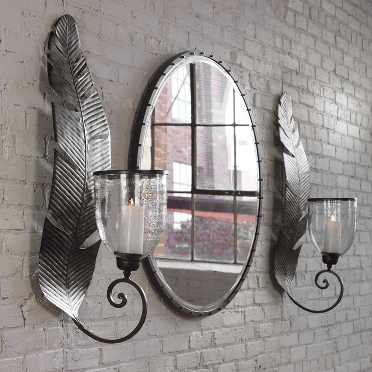 Lallia Candle Sconce by Uttermost