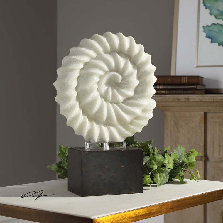 Twisted Spiral Sculpture by Uttermost
