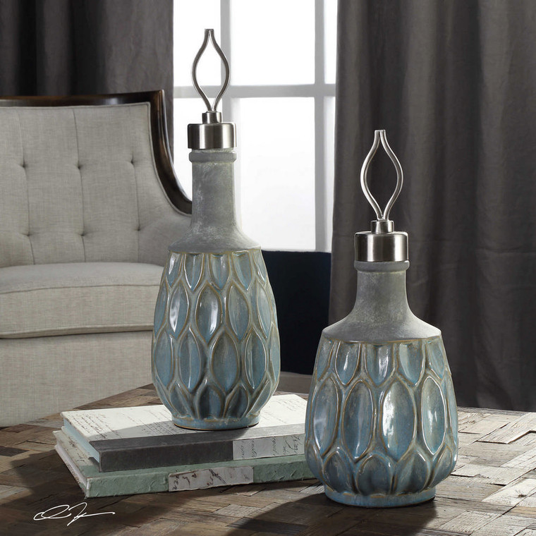 Arpana Bottles S/2 by Uttermost