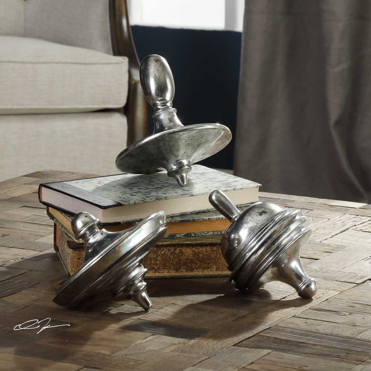 Spinning Tops S/3 by Uttermost
