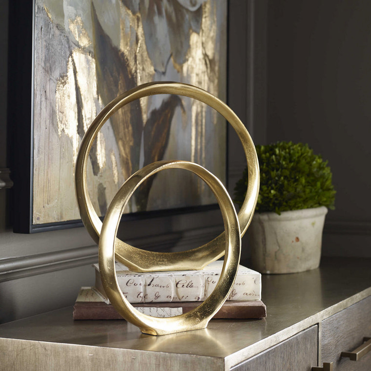 Jimena Ring Sculptures S/2 by Uttermost