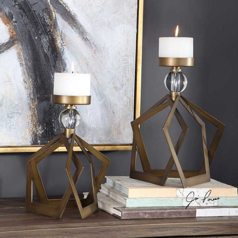 Lianna Candleholders S/2 by Uttermost