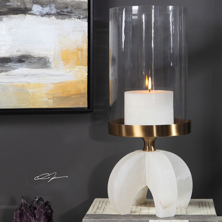 Alanea Candleholder by Uttermost