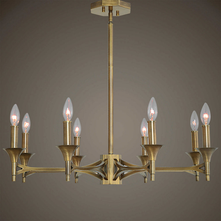 Brant 8 Lt. Chandelier by Uttermost