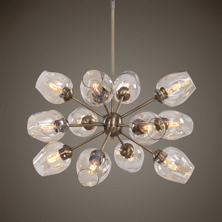Chet 12 Light Sputnik Chandelier by Uttermost