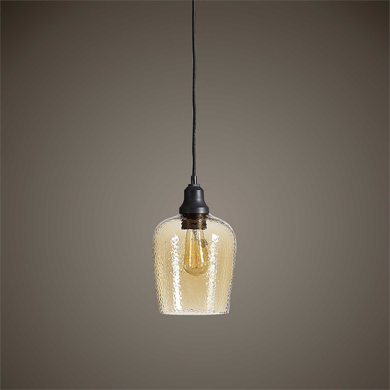 Aarush 1 Lt. Mini Pendant - by Uttermost
