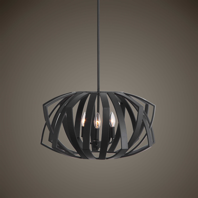 Thales 3 Lt. Pendant by Uttermost