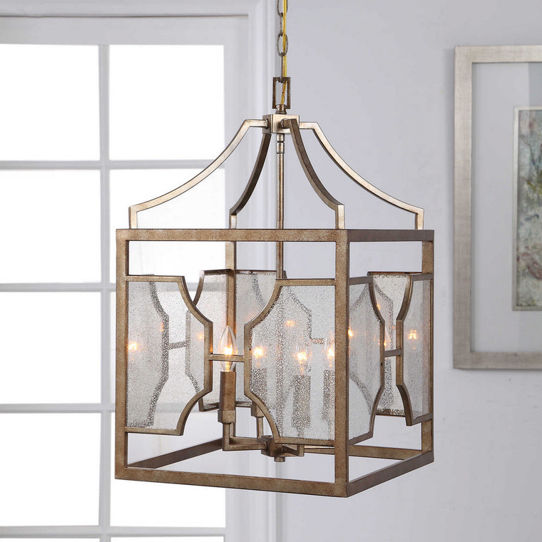 Cates 4 Light Lantern Pendant by Uttermost