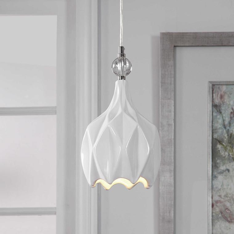 Maleny 1 Light Mini Pendant by Uttermost