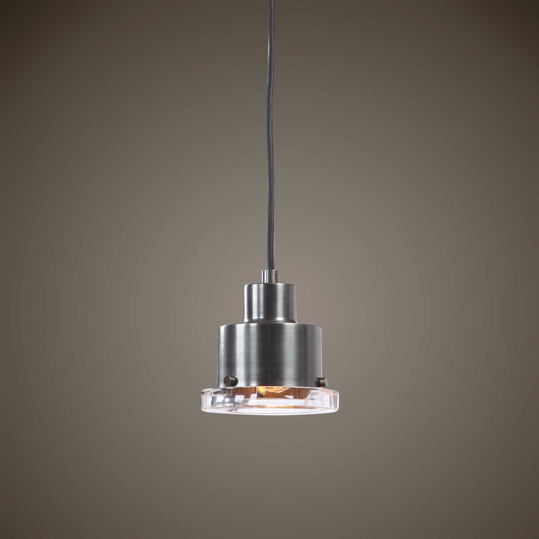 Hamler 1 Light Mini Pendant by Uttermost