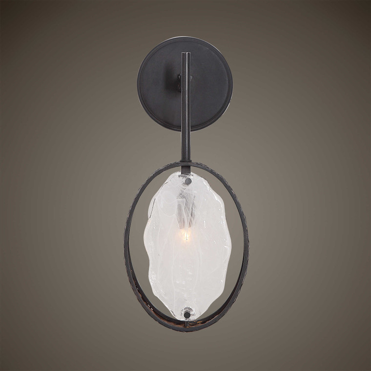 Maxin 1 Lt. Sconce by Uttermost