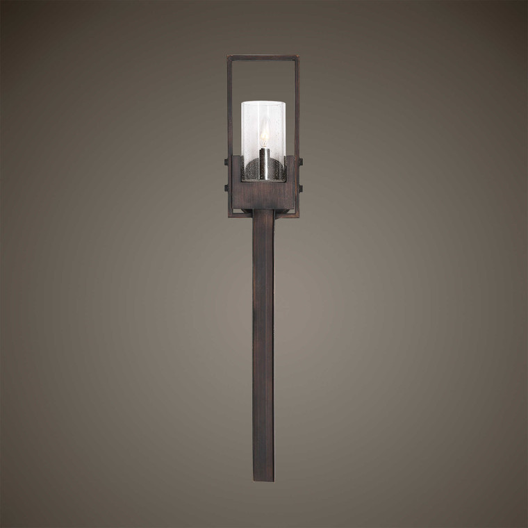 Pinecroft 1 Lt. Sconce by Uttermost