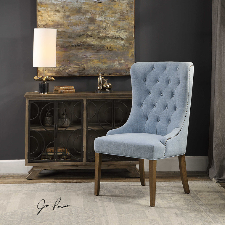 Rioni Wing Chair by Uttermost
