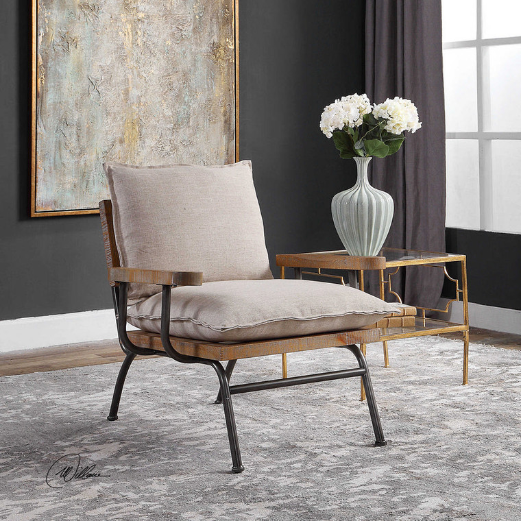 Declan Accent Chair by Uttermost