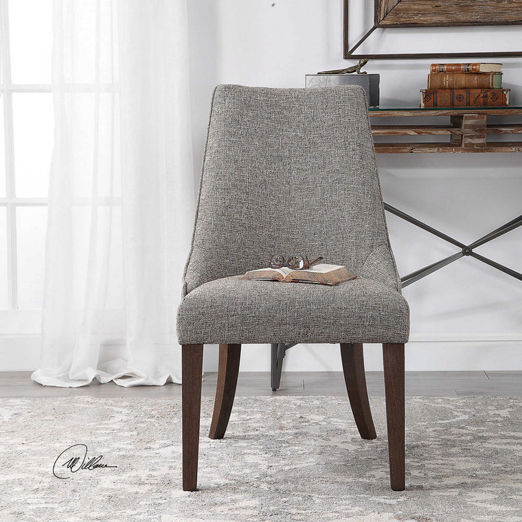 Daxton Armless Chair by Uttermost