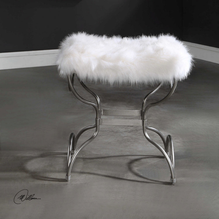 Channon Small Bench by Uttermost