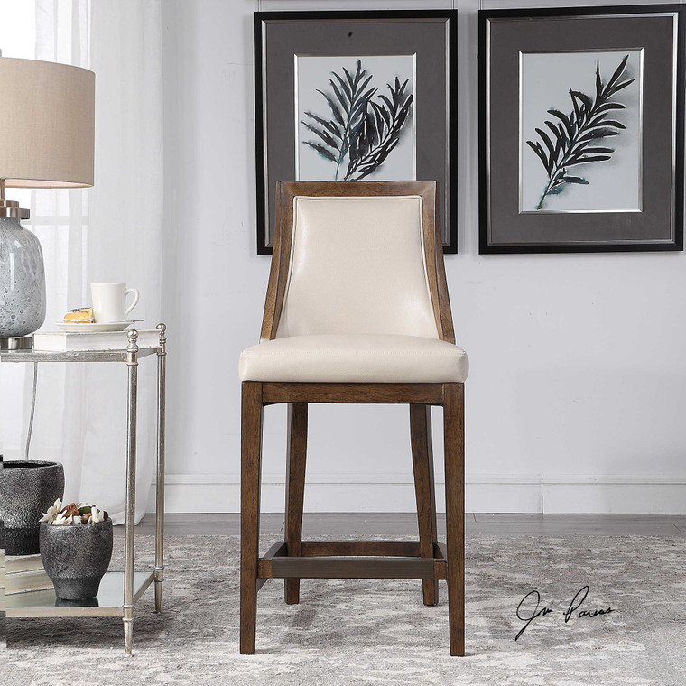 Purcell Counter Stool by Uttermost