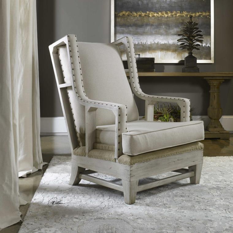 Schafer Armchair by Uttermost