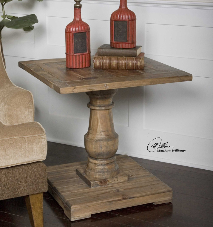 Stratford End Table by Uttermost