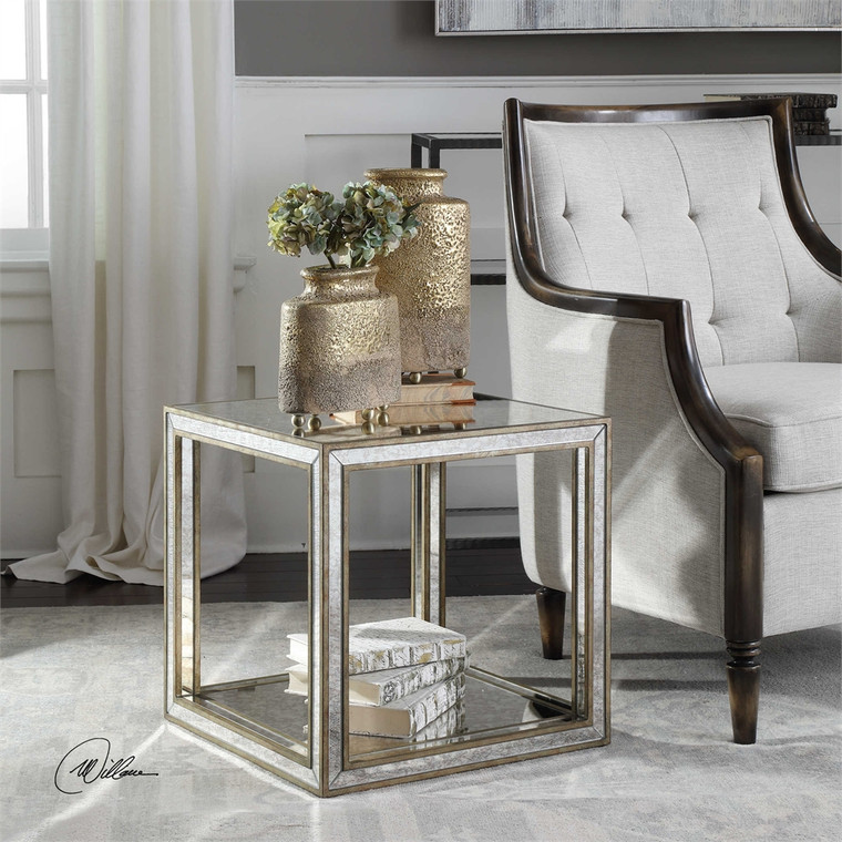 Julie Accent Table - by Uttermost