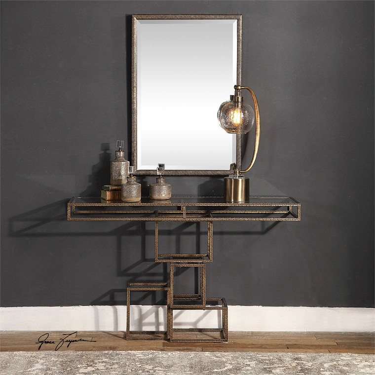 Ruslan Console Table - by Uttermost