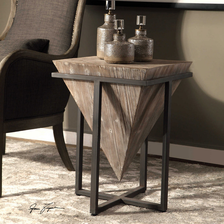 Bertrand Accent Table by Uttermost