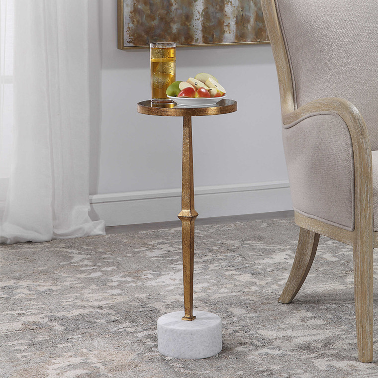 Miriam Round Accent Table by Uttermost