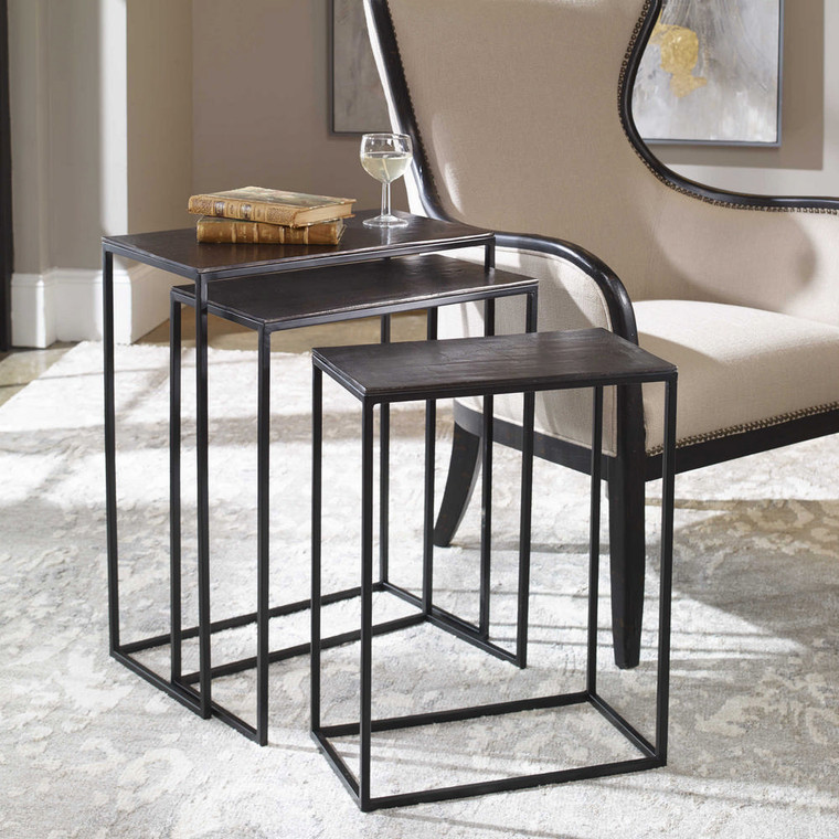 Coreene Nesting Tables S/3 by Uttermost