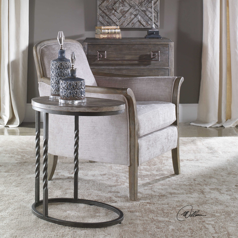 Tauret Side Table by Uttermost