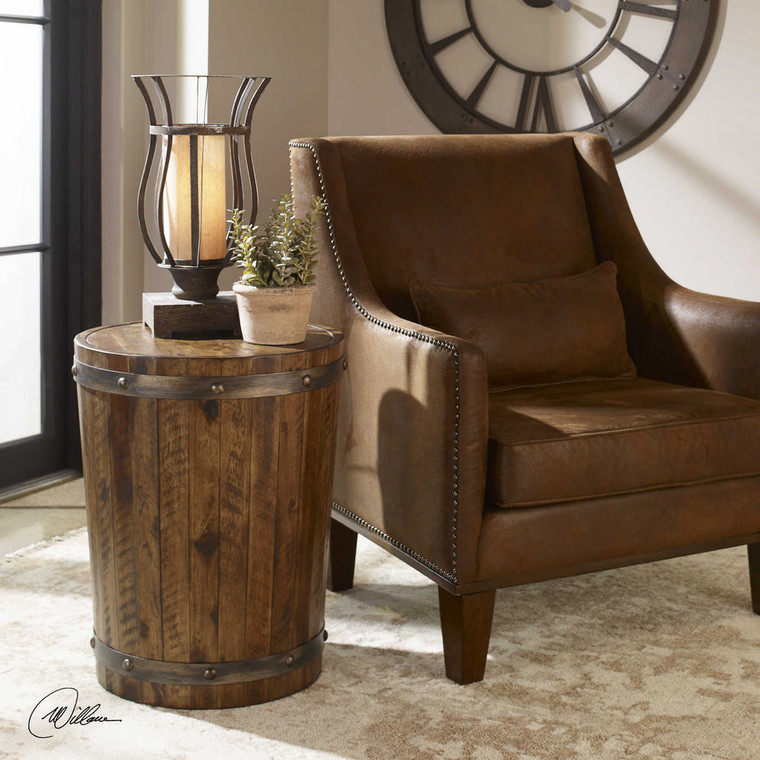 Ceylon Accent Table by Uttermost