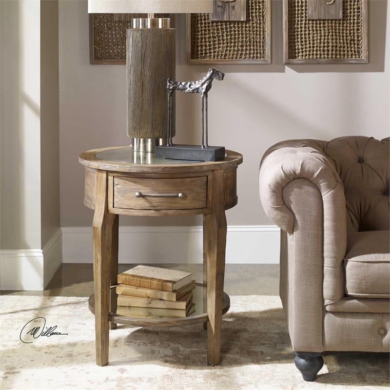 Raelynn Lamp Table - by Uttermost