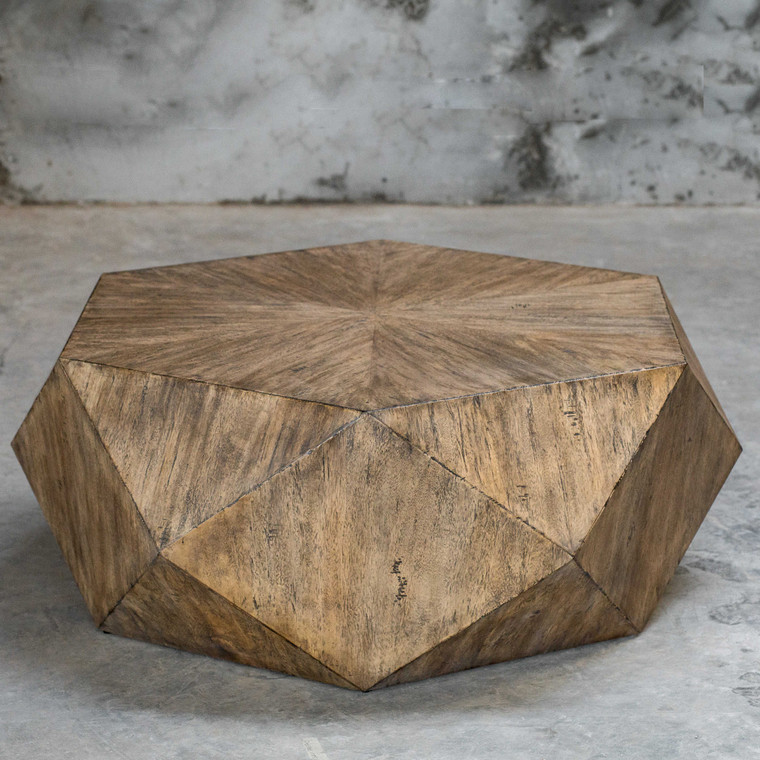 Volker Coffee Table Honey by Uttermost